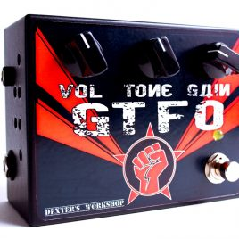 THE GTFO – full tube / high-gain/ high-voltage guitar overdrive