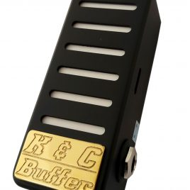 K&C dual guitar buffer <br> and bass buffer